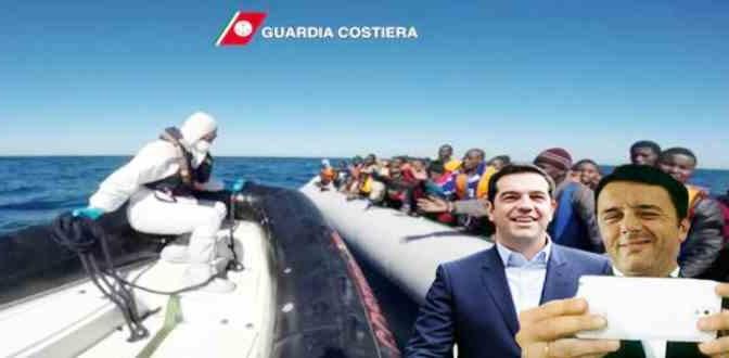 Clandestini: Ora Renzi se li va a prendere anche in Grecia