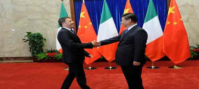 Governo abusivo svende ai Cinesi i porti italiani