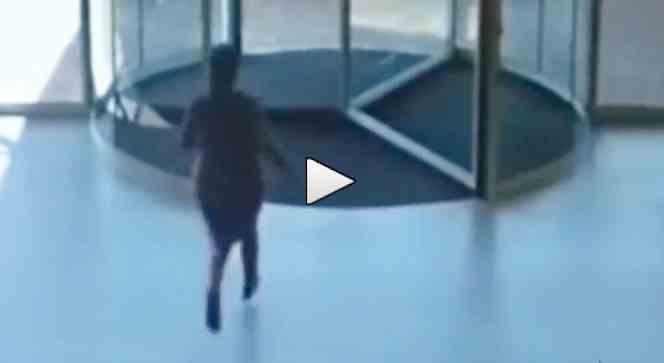 Guardate che fine fa questa ladra – VIDEO