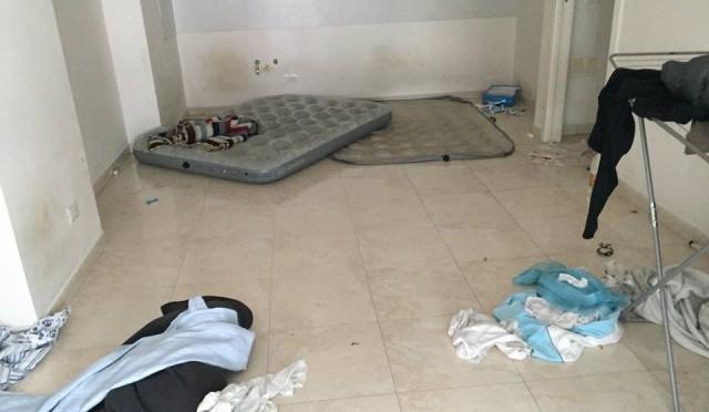Ecco come i profughi hanno ridotto un residence in pochi mesi