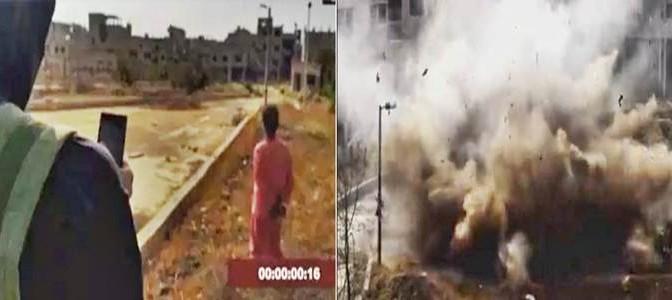 ISIS POLVERIZZA PRIGIONIERI: CONTO A ROVESCIA POI ESPLOSIONE – VIDEO