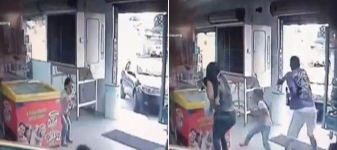 Terribile esecuzione: così rapinatore uccide una mamma davanti alla sua bimba – VIDEO