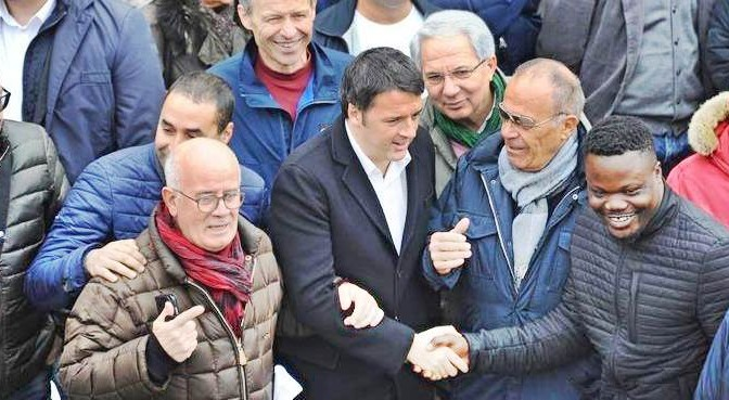 Renzi scatenato: 1,6 milioni di euro a 135 profughi