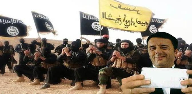 Renzi scatenata: raccatta in Libia 1.333 maschi islamici, un criminale