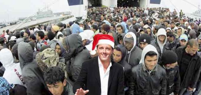 """""""Governo Renzi e UE complici scafisti"""""""