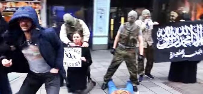Provocazione: Sgozzamenti islamici a Vienna – VIDEO