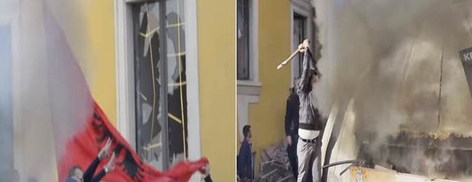 """Sobria"" manifestazione albanese – VIDEO"