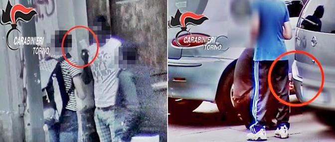 Vite rovinate dai migranti: padre compra droga da africani, poi si buca davanti figlio – VIDEO CHOC