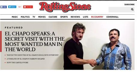 Intervista esclusiva a El Chapo: indagato Sean Penn