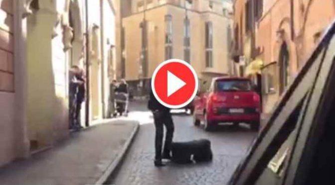 Firenze: africano lancia animali morti dentro auto in coda