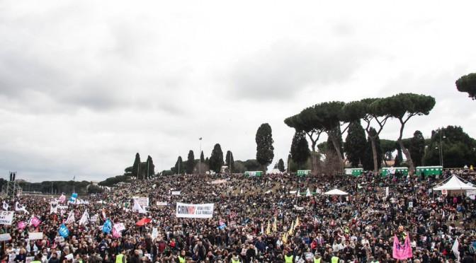 Family Day: oltre 2 milioni per dire no alla Cirinnà