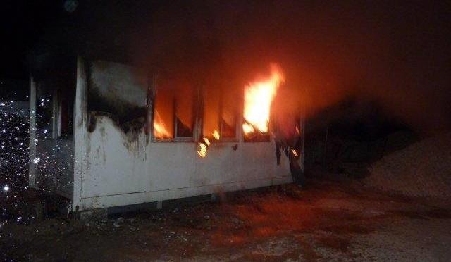 Cantiere nuova mega moschea va a fuoco