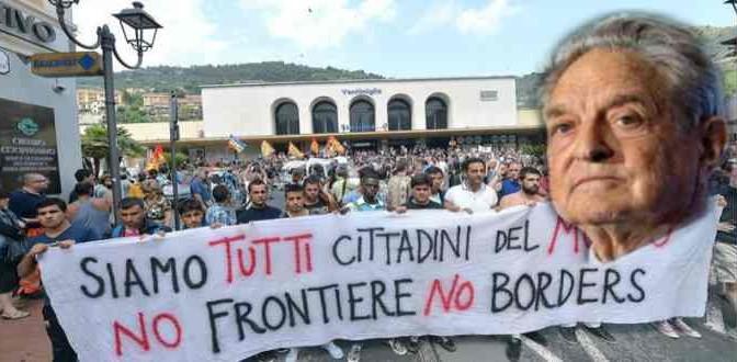 Multinazionali, UE e Soros tra finanziatori 'No Borders'