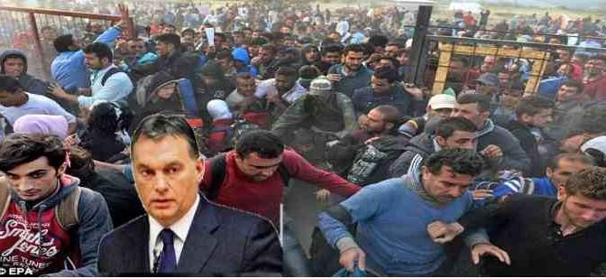 """Orban: """"Il miglior migrante è quello che non arriva"""""""