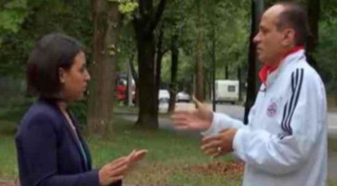 Profugo spiega a TV come si è portato qui 4 mogli – VIDEO