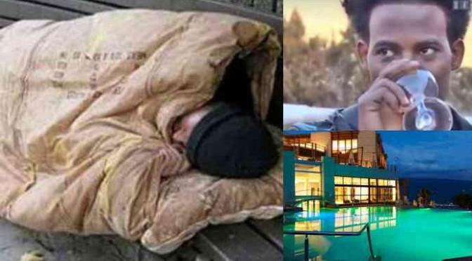 Senzatetto italiano muore su panchina davanti hotel, nella città dei 1.130 profughi