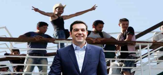 Grecia spende 1,8 miliardi per mantenere 50 mila clandestini accampati