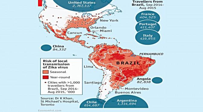 Missionaria porta in Italia il virus ZIKA