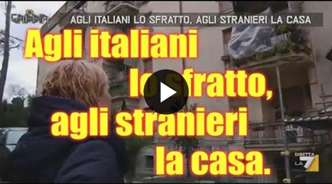 Roma, Forza Nuova blocca sfratto famiglia italiana da casa popolare