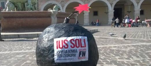 """FN: """"Ius Soli è una bomba a tempo"""""""