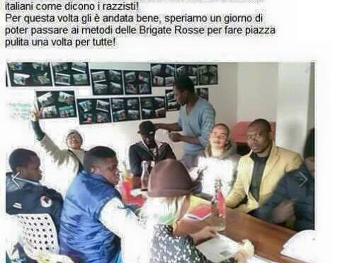 """""""Centro sociale dà pasta donata ad anziani ai clandestini"""""""