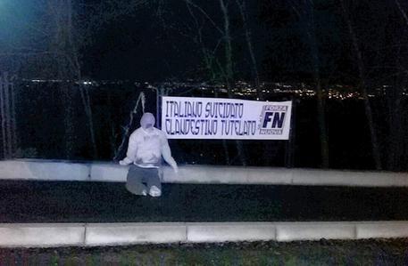 Protesta contro bando milionario a favore clandestini