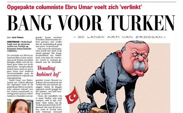 Proteste in Turchia per vignetta olandese su Erdogan