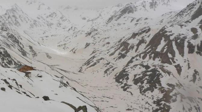 Neve rossa in Alto Adige – FOTO