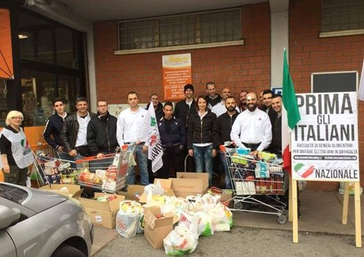 Rimini: vince solidarietà tra italiani, raccolta record di cibo