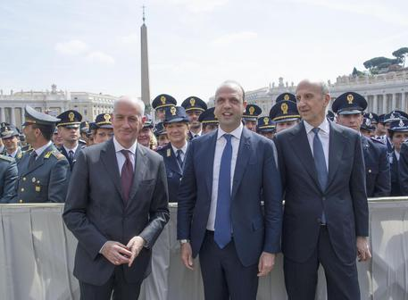 I responsabili della nostra sicurezza da Bergoglio