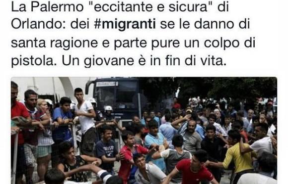Salviniano denunciato per 'odio razziale' dopo questo post – FOTO