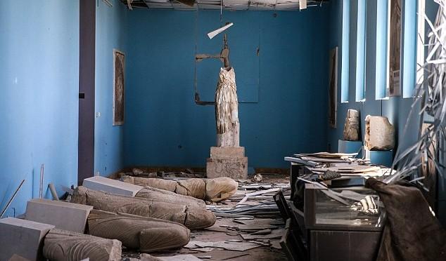 PALMIRA: Ecco cosa resta delle statue dopo 10 mesi di Islam – 6 FOTO