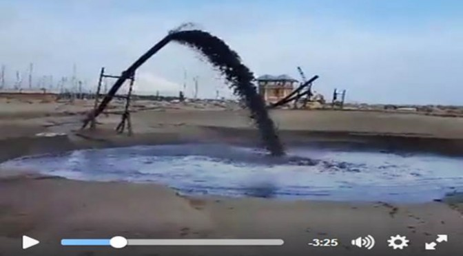 Grosseto: petrolio in mare? No ma non è un bel vedere