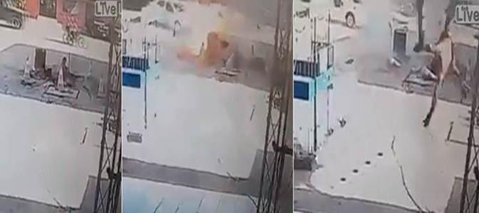 Accende sigaretta mentre pulisce serbatoio benzina: diventa un missile – VIDEO