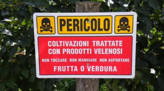 E' ALLARME PESTICIDI NELLE ACQUE ITALIA: RECORD IN TOSCANA