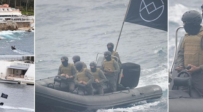 CANNES: attori nel panico per finto sbarco di ISIS – VIDEO