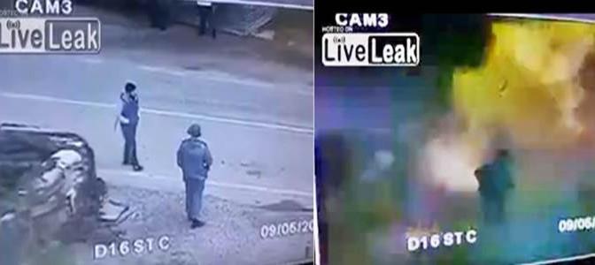RUSSIA: KAMIKAZE ISLAMICO SI FA ESPLODERE – VIDEO CHOC