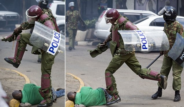 Kenya: polizia non è d'accordo con le riforme – FOTO
