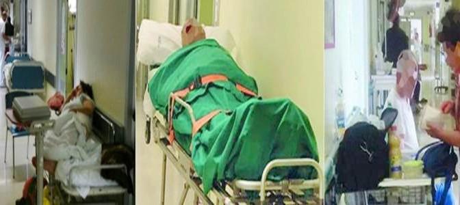 Clandestino vive in ospedale da mesi: pazienti italiani in corsia