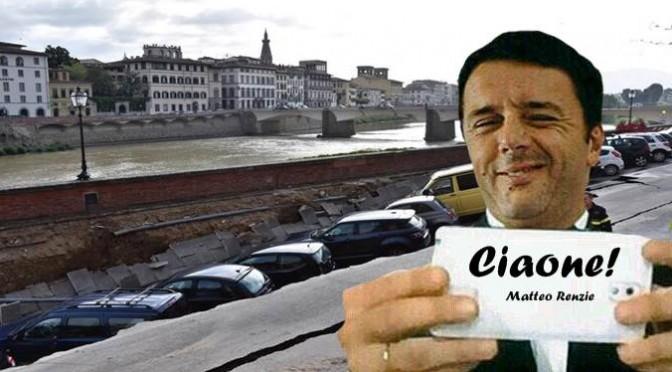 Crollo Lungarno: perdita denunciata giorni fa, Boschi in cda Publiacqua