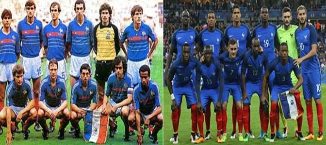 La Grande Sostituzione etnica nel calcio: dal 1984 al 2016
