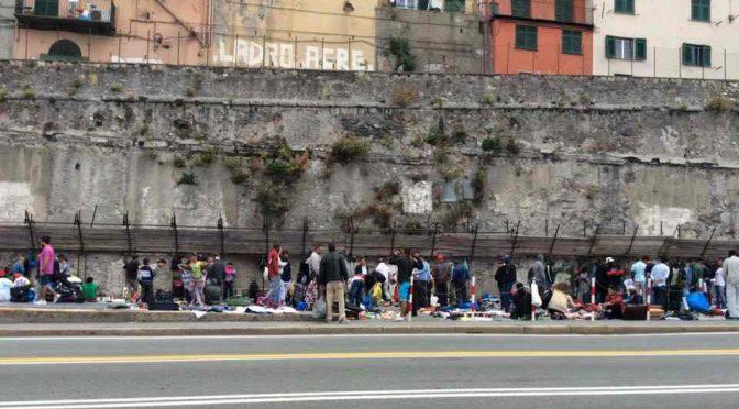 Genova assediata dai venditori abusivi del PD