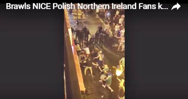 Nizza: scontri tra Polacchi e Irlandesi, Euro2016 in balia di Schengen