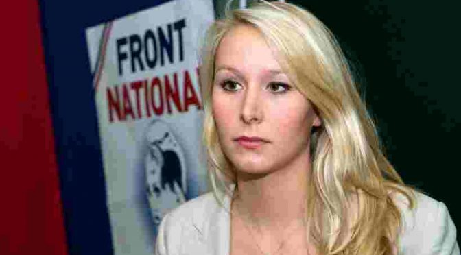 """Marion Le Pen: """"E' guerra etnica"""""""