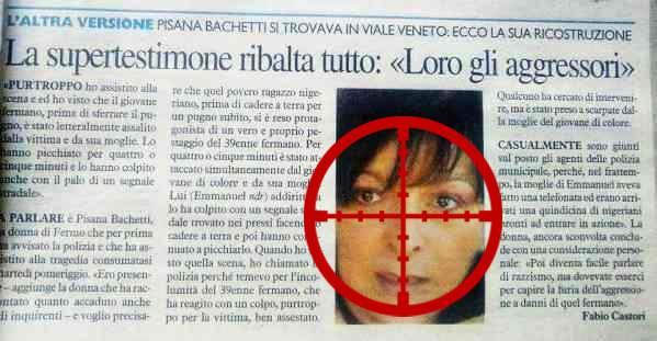 """FERMO: VOGLIONO ELIMINARE LA TESTIMONE, """"MINACCIATA DI MORTE"""""""