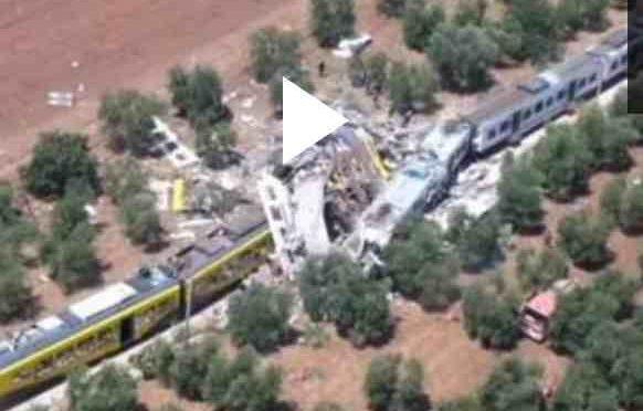DISASTRO FERROVIARIO IN PUGLIA: PIU' DI 10 MORTI
