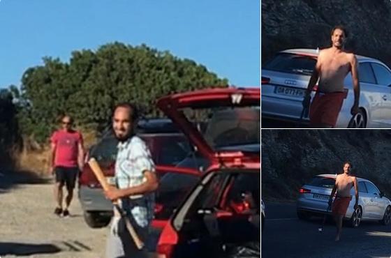 Islamici si armano per prendersi spiaggia, Corsi danno fuoco loro auto – VIDEO