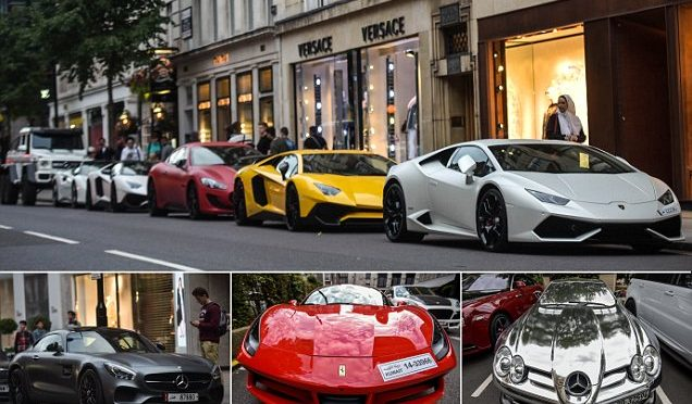 Londra: arrivano gli arabi e le loro supercar di lusso