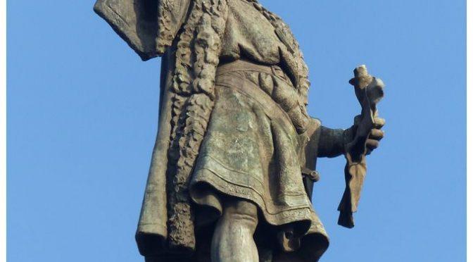 Barcellona: statua Cristoforo Colombo sostituita da indigeno