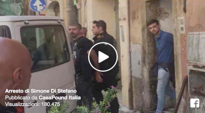 DIFENDE FAMIGLIA ITALIANA DA SFRATTO: LEADER CASAPOUND IN MANETTE – VIDEO